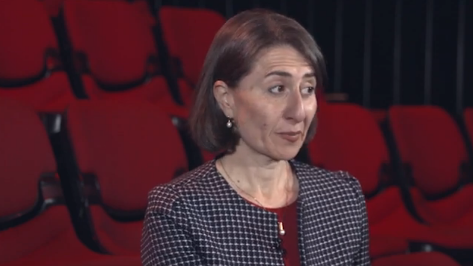 In The Chair – Premier Gladys Berejiklian