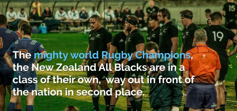 Why the All Blacks are so good?